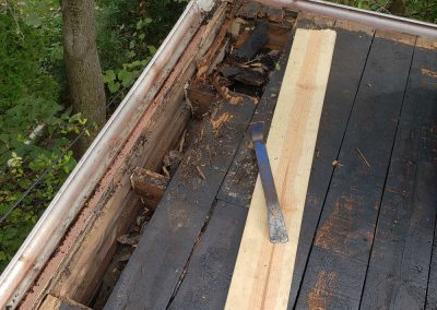 Replace-decking